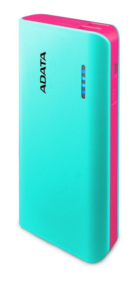 Adata Power Bank 10000mah Cargador Portatil Celular Pt100 Aq