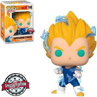 Funko Pop 709 Dragon Ball Z6 Super Saiyan 2 Vegeta Exclusivo