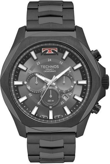 Relógio Technos Masculino Cronógrafo Legacy Js26al/4p