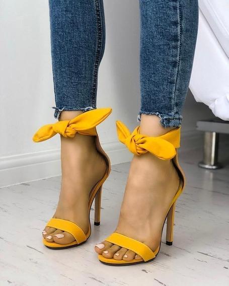 Tacones Zapatillas Moño Casuales Nyc Shoes