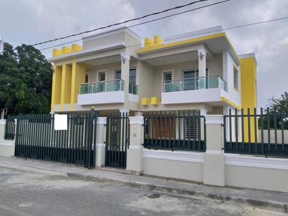 Hermosa Casa De Venta Santiago Recien Terminada