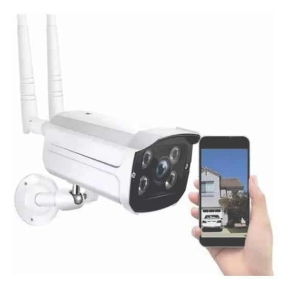 Kit 2 Camera Ip Wifi Sem Fio De Segurança Ip66 V380 Externa