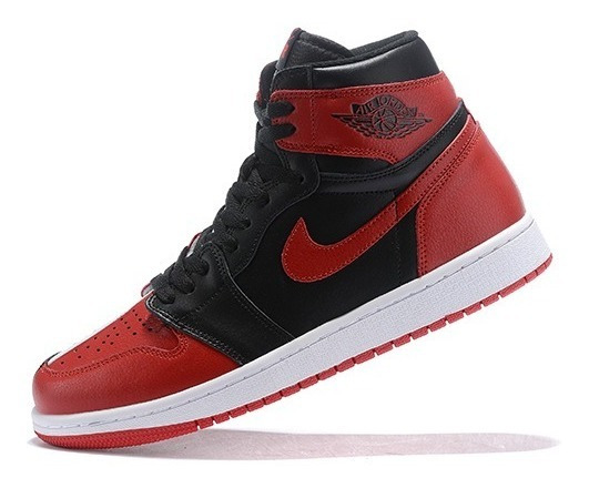 Nike Air Jordan 1 Retro High (rojo Y Negro)