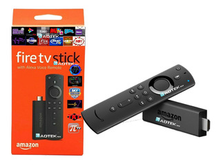 Amazon Firetv Fire Tv Stick Alexa 2019 Nuevo + 1mes Regalo