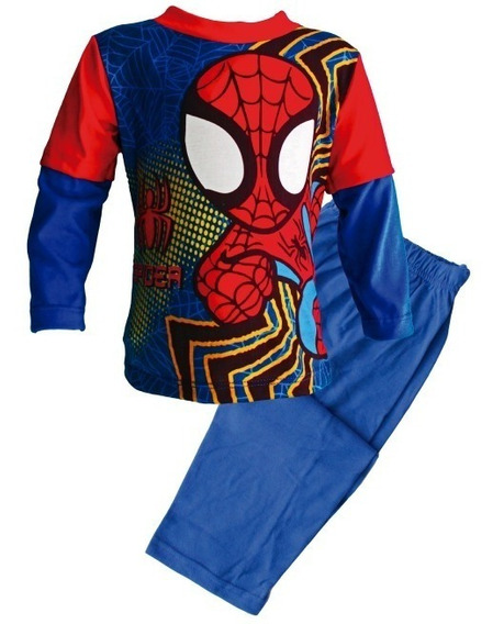 Pijama De Spiderman