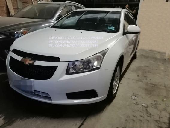 Chevrolet Cruz 2012 Standar 1.8 Lts Tela Enganche $ 23,600