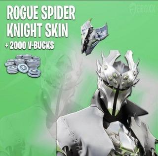 Caballero Araña Blanco Exclusivo De Xbox