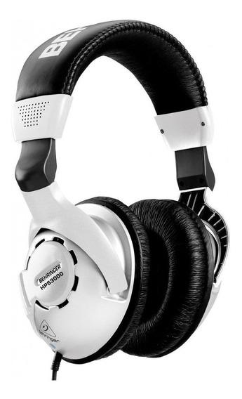 Fone de ouvido Behringer HPS3000 preto e prata
