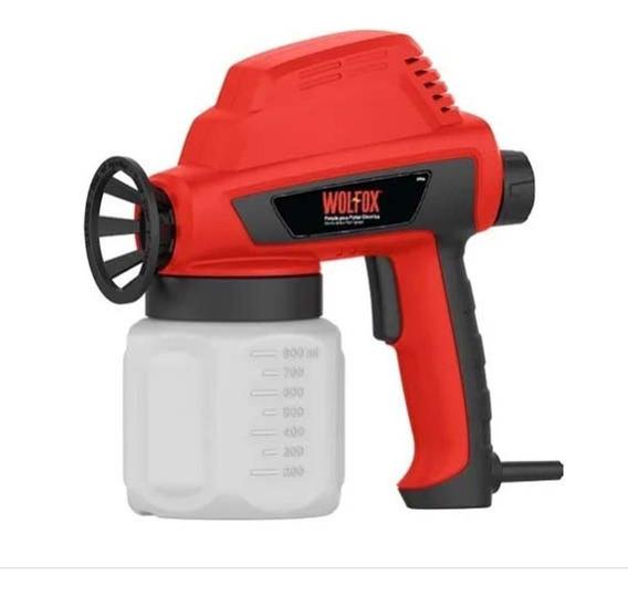 Pistola Eléctrica P/ Pintar Sanitizar Desinfectar