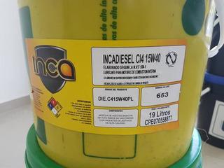 Aceite Diesel 15w40 Mineral O Diesel 50 (inca) (ultralub)