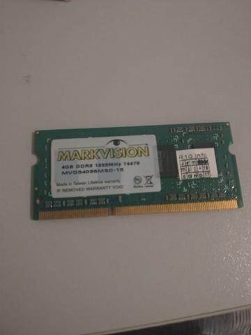 Memoria P/ Notebook Markvision Ddr3 4 Gb 1333 Mhz