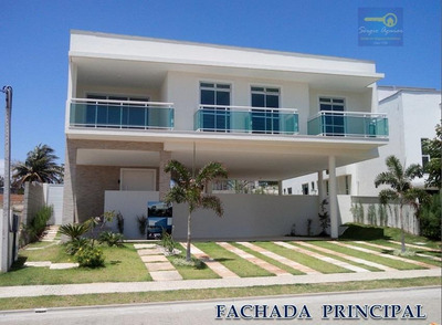 Casa Residencial À Venda, Alphaville Eusébio, Eusébio. - Codigo: Ca0254 - Ca0254