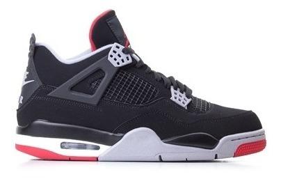 Tênis Nike Air Jordan 4 Bred Pronta Entrega