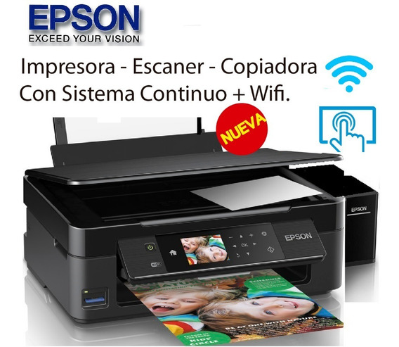 Impresora Epson Xp 440 + Wifi Mejor Q L3110 L3150 L4150