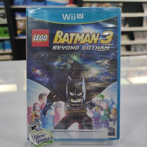 Lego Batman 3 Beyond Gotham Nintendo Wii U - Novo Lacrado
