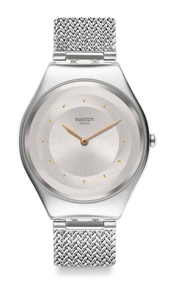 Reloj Skinsand Plateado Swatch