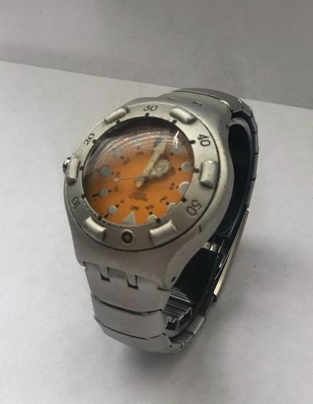 Reloj Swatch Irony Watch Usado Aluminio Original