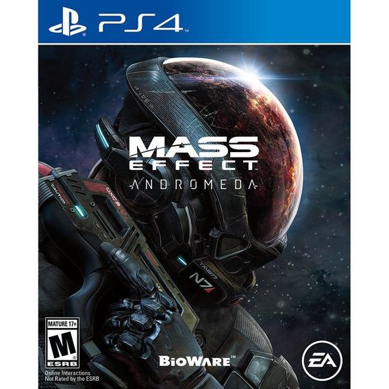 Game Ps4 Mass Effect Andromeda - Original - Novo - Lacrado