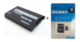 Cartão Memória Micro Sd 16g Para Câmera Wi-fi Celular Lb-m02