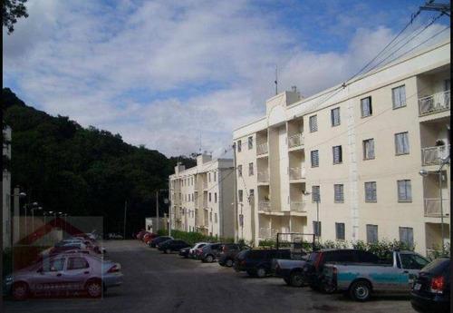 Apartamento Com 3 Dormitórios À Venda, 65 M² Por R$ 260.000,00 - Jardim Caiapia - Cotia/sp - Ap0306