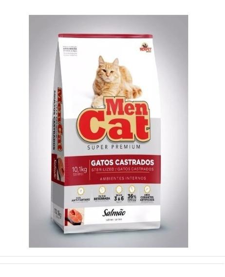 Ração Mencat Gatos Castrados 10,1kg