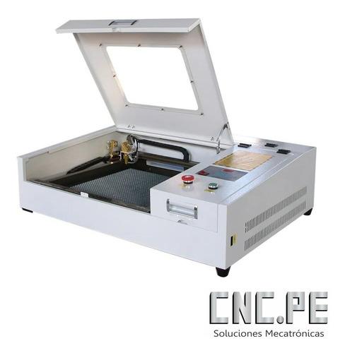 Máquina Cnc Láser Co2 50w 4040 M2 Corte Y Grabado - Inc Igv