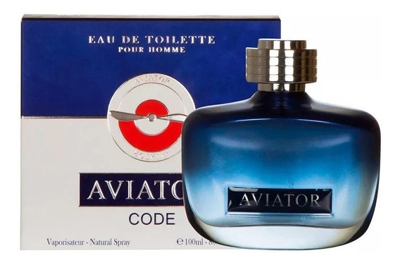 Perfume Aviator Code - Edt - 100 Ml Made In France