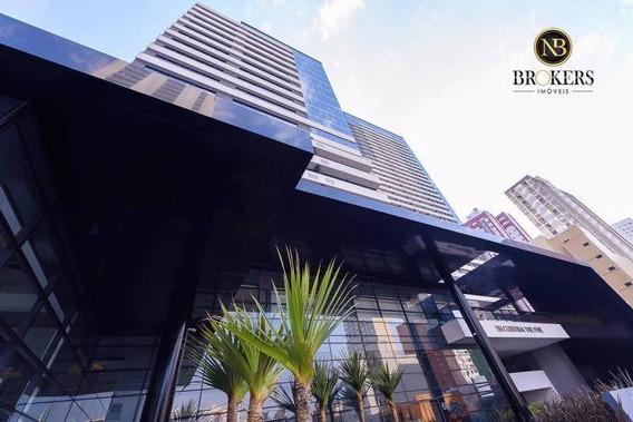 Sala À Venda, 59 M² Por R$ 407.060,00 - Centro - Curitiba/pr - Sa0028