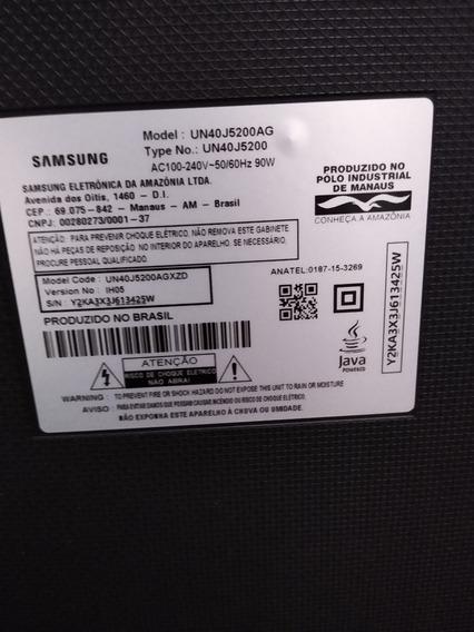 Smart Tv Samsung 40 Polegadas (tela Trincada)