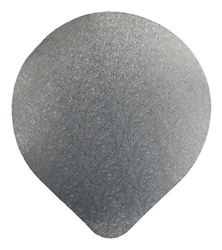 1000 - Selos De Alumínio 100mm Para Potes - Registron
