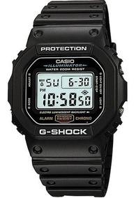 Relógio Casio G-shokc Dw-5600-1 Serie Prata