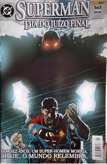 Superman Día Del Juicio Final (1 De 2) Comic En Portugués