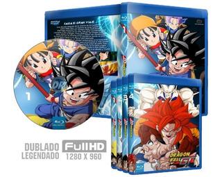 Blu-ray Dragon Ball Gt Dublado Legendado