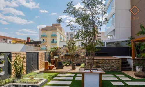 Apartamento Garden Com 2 Dormitórios À Venda, 182 M² Por R$ 1.390.000,00 - Vila Mariana - São Paulo/sp - Gd0061