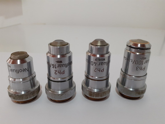Objetivas Zeiss Neoflar P/microscópio De Contraste De Fases