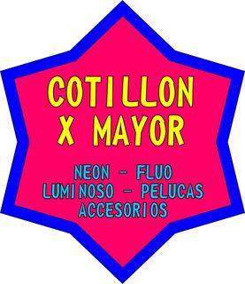 Cotillon X Mayor Distribuidor Luminoso Neon Fluo Combos