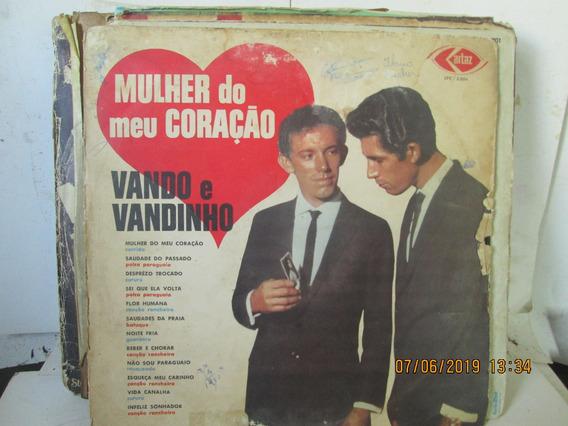 Lp Vando E Vandinho Mulher Do Meu Coracao Lpc 5.024 Ano 1970