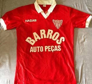 Camisa Mogi Mirim Hagas Vermelha Anos 80 De Jogo