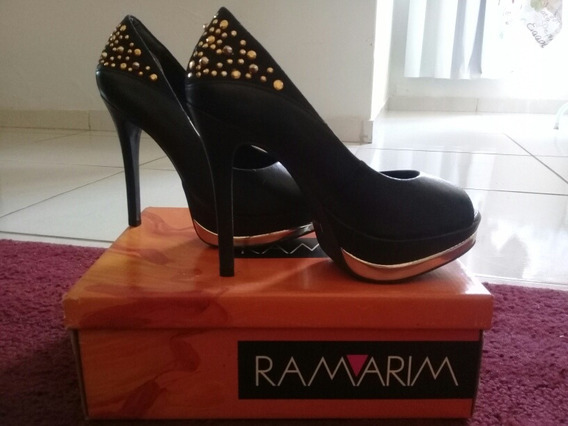 Sapato Ramarim, Preto, Número 36