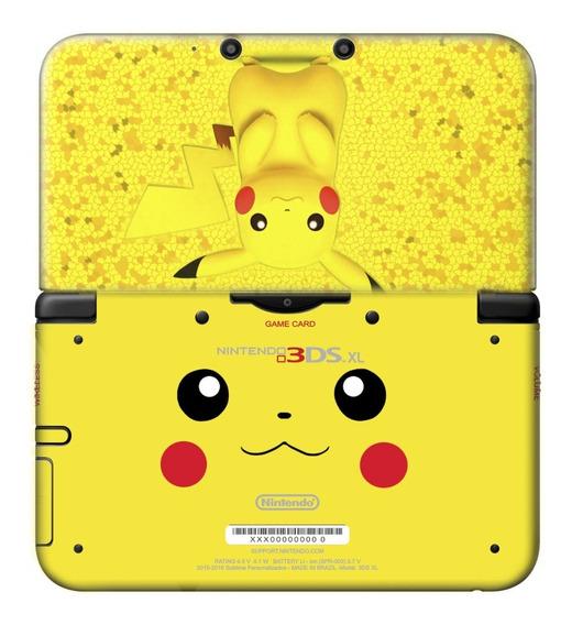 Skin 3ds Xl / New Xl Pikachu Sublimeskins