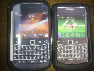 Forros/estuches Blackberry Bold - Touch 9700 Y 9930