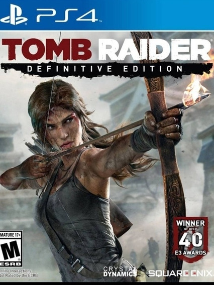 Tomb Raider Definitive Edition Ps4 1 Legendado Dg