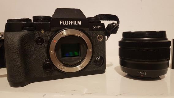 Fujifilm X-t1 16 Mpx Com Lente 15-45mm E 4 Baterias
