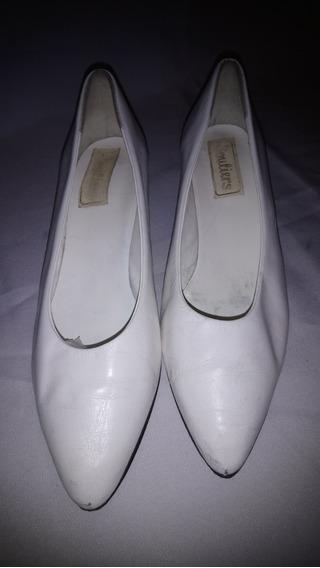 Zapatos Cuero Vintage