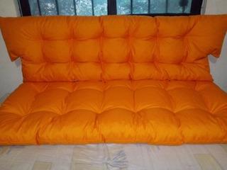 Juego De Cojines Para Muebles De Madera Repujados, Unicolor