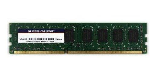 Memoria Ram 8gb Super Talent Ddr3-1600 512mx8 Cl9 Hynix Chip Value (w1600ub8gv)