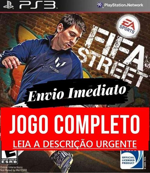 Fifa Street Ps3 Midia Digital Psn Envio Hoje Promoção