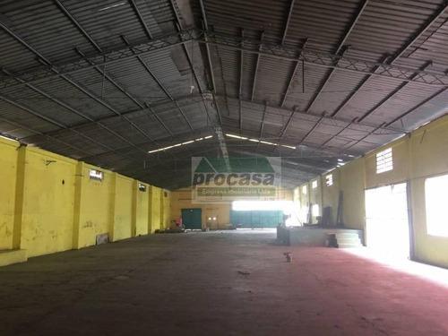 Galpão À Venda, 1600 M² Por R$ 3.500.000,00 - Compensa - Manaus/am - Ga0100