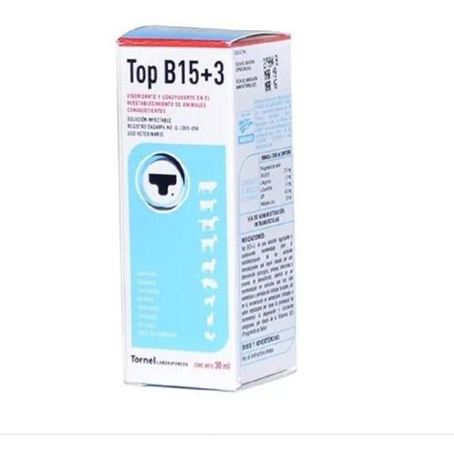 Imagen 1 de 1 de Vitamina Gallos Tornel Top B15 +3 X 30ml Entrega Inmediata