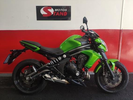 Kawasaki Er6n Er-6n Er 6n Er6 N 650 2013 Verde